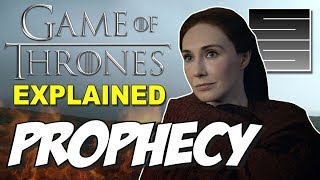 Prophecy Real? - Game Of Thrones Season 8