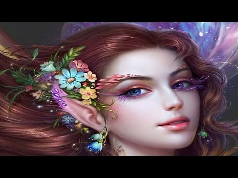 Animated Lonely Girl Wallpapers 1 Hour Of Beautiful Fairy Music Youtube