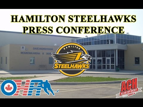 Hamilton Steelhawks Press Conference