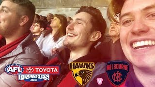 HAWTHORN vs MELBOURNE SEMI FINAL 2018 AFL VLOG
