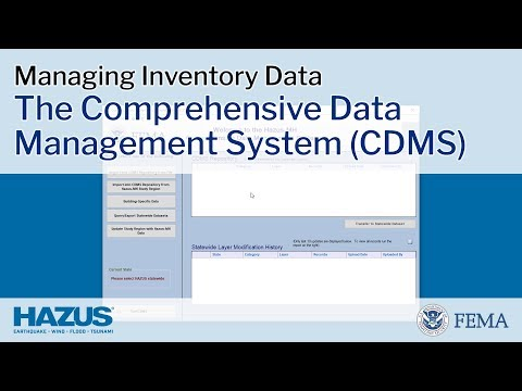 Hazus | The Comprehensive Data Management System (CDMS)