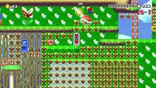 【マリオメーカー】60秒スピードラン SPEEDRUN【Super Mario Maker】