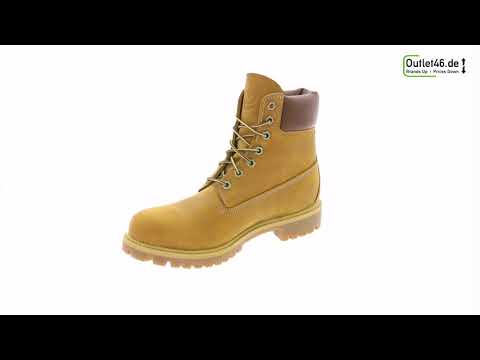 Timberland 6 InchEchtleder-Boot Braun l Der Perfekte Winterschuh l 360° Video l Outlet46.de