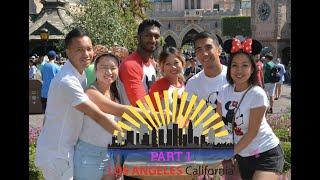 USA 2018: Part 1 - Los Angeles Travel Vlog
