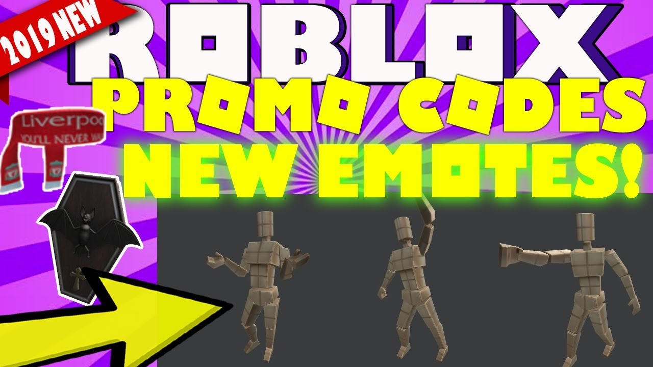 Roblox Free Emotes Plus Promocodes New All Working August 2019