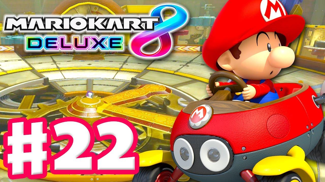 Baby Mario Mario Kart 8: Baby Mario! Lightning Cup! Online Vs Races!