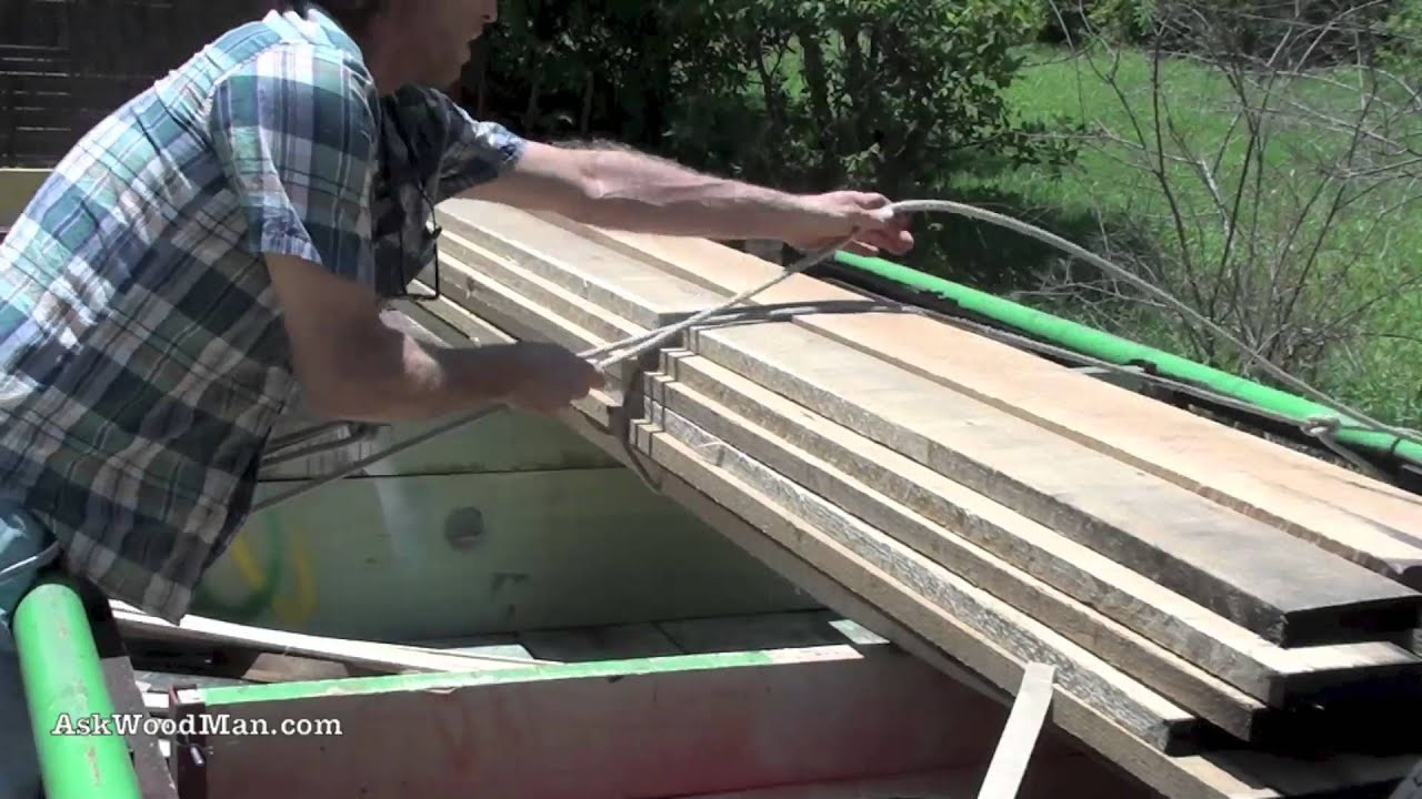 How To Tie Knots To Secure A Load For Transport Knots