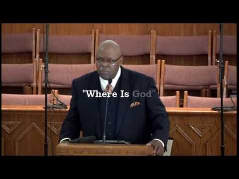 """Where Is God""   Pastor Alex Horton"