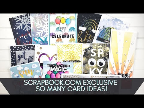 All My Scrapbook.com Projects!