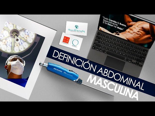 Definición Abdominal Masculina Colombia o  Lipoescultura alta Definición Hombres Bogota