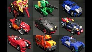 헬로카봇 9대 자동차 로봇 장난감 변신  Hello Carbot 9 Transformer Robot Toys