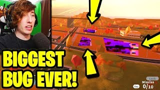 THIS is the BIGGEST JAILBREAK BUG EVER! *CITY DESTROYED* | Roblox Jailbreak Volcano Erupting Update