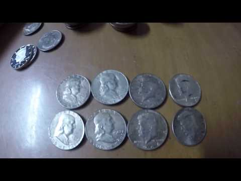 Silver coins for face value! Coin machine. Coin collecting. How to get silver coins. Ilocano. Pinoy