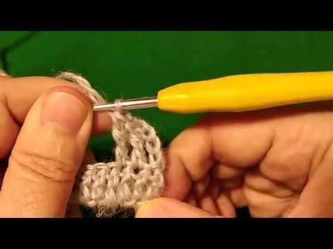 уроки вязания крючком полустолбик столбик с 2 накидами