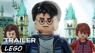 Harry Potter and the Deathly Hallows Part 2 Lego Trailer