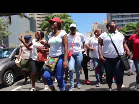 NO JOB , NO VOTE KZN UNEMPLOYED QUILIFIED TEACHERS on STRIKE Part 2