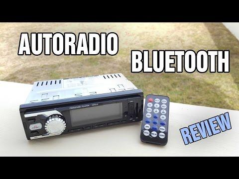 Review d'un Autoradio MP3 Bluetooth | SD | USB | AUX | à moins de 40€
