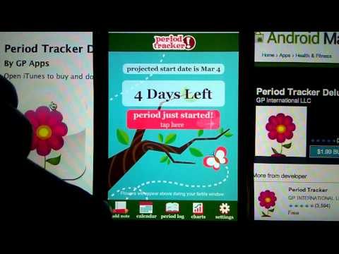 Period Tracker Deluxe for iOS & Android - Detailed Demo & How to Guide