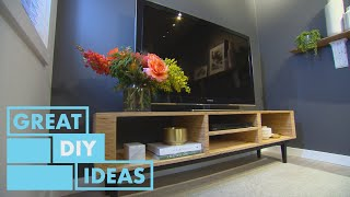 How to Make A Tν Cabinet from Plywood | DIY | Great Home Ideas