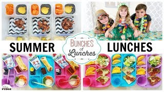LUNCHES for the HOTTEST Week of SUMMER! || Blanket Forts, Movies and GAMES!
