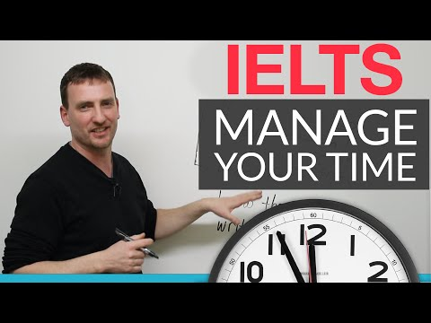 IELTS - How to manage your time