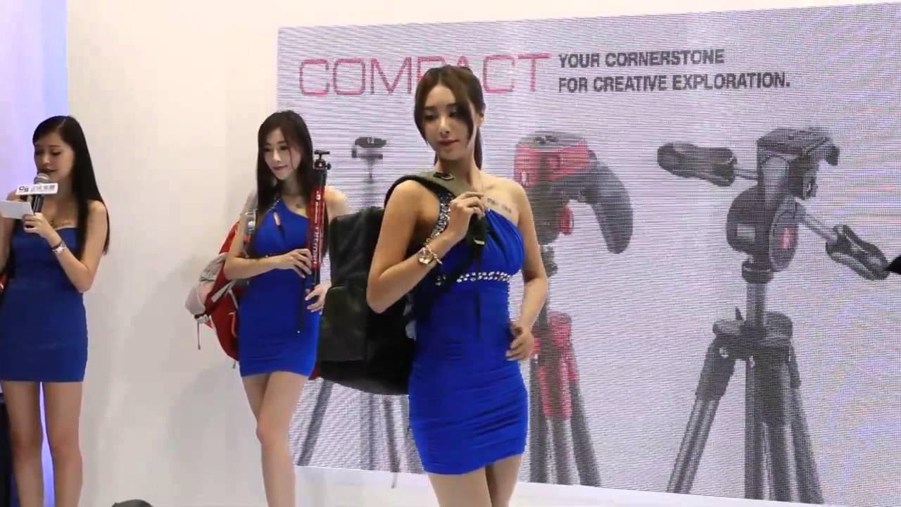 2015臺北攝影器材展正成女神 - YouTube