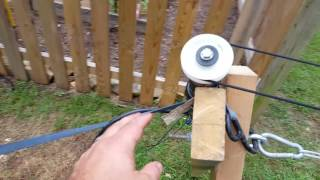 DIY remote controlled moving target