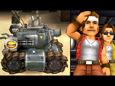 Metal Slug 3D (PS2) All Bosses (No Damage)