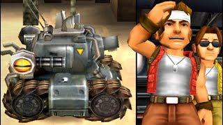 Metal Slug 3D (PS2) All Bosses (No Damage)