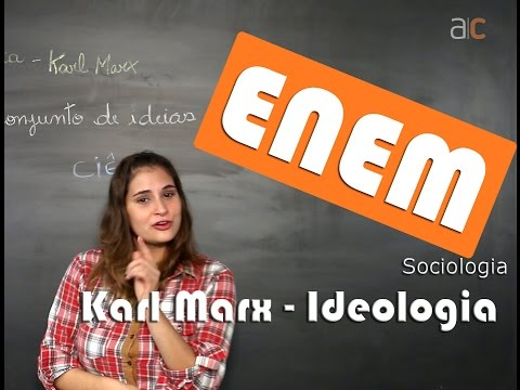 Karl Marx  - ideologia