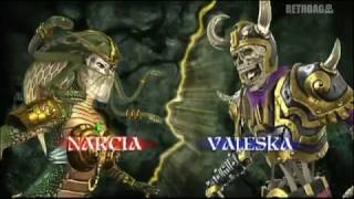 Tournament of Legends [Wii] Narcia vs Valeska Promo Video