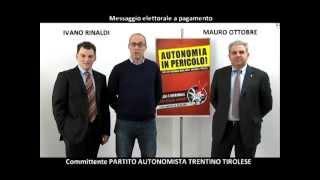 Spot politiche 2013 - STELLA ALPINA
