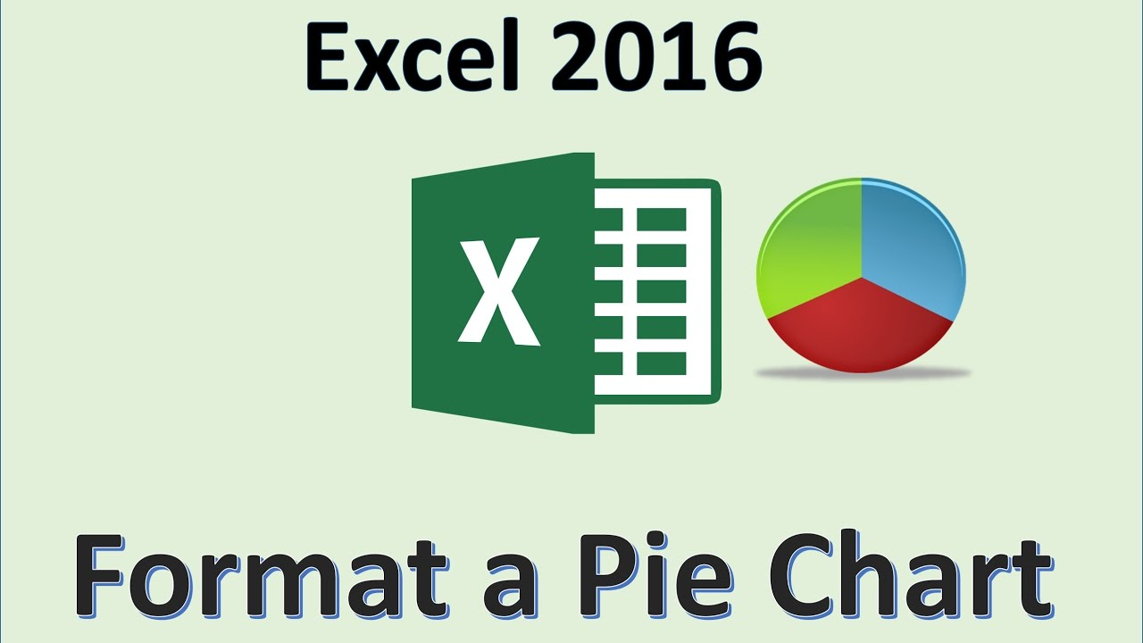 Excel 2016 Pie Chart Tutorial How To Make 3d Pie Charts In Ms