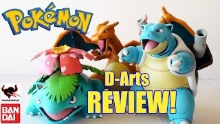 figure review d arts pokemon kanto starter evolutions by bandai tamashii nations