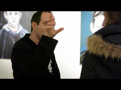 GILLES SEBHAN EXPOSE A LA GALERIE FRÉDÉRIC MOISAN