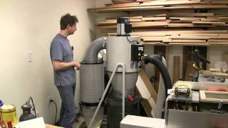 Laguna Tools 2 Hp Mobile Cyclone Dust Collector Review - Part 3