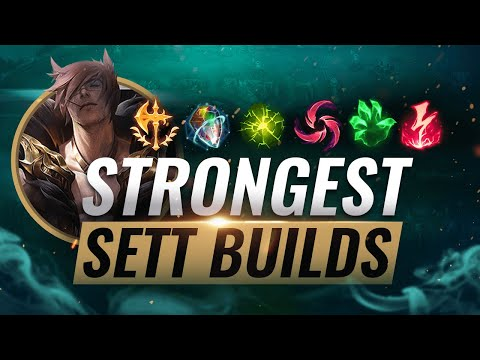 4 NEW OVERPOWERED Sett Builds That Pros Are ABUSING For FREELO - League Of Legends Season 10
