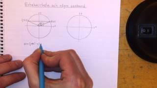 Ma4 Enhetscirkeln och några samband thumbnail