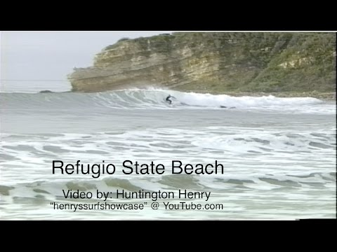 """Refugio State Beach"" 3-6 feet good! - surfing"