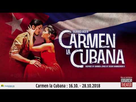 Carmen La Cubana im Deutschen Theater München