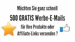 MaxiMails.de kostenlos sofort 500 Werbeemails versenden