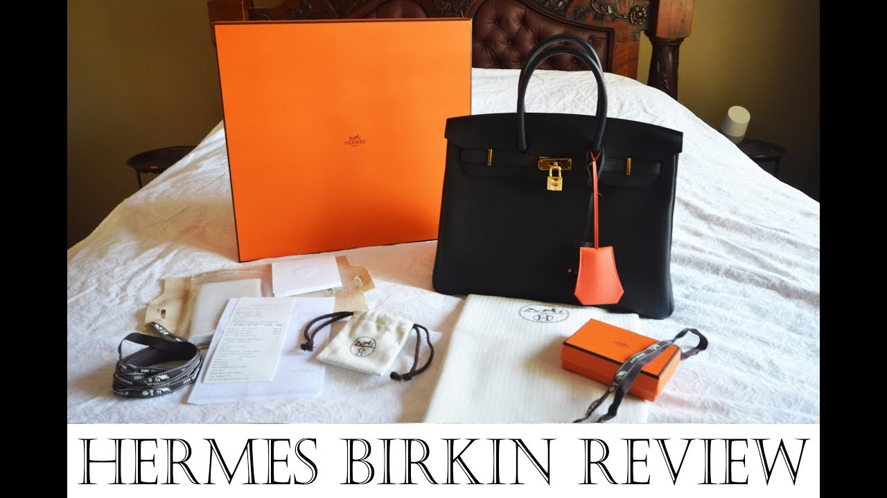 1637407db744 Hermes Birkin 35 Review inc Hermes Birkin history story   how to buy Hermes  Birkin bag! (PART1 2)