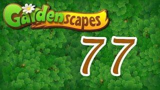 Gardenscapes level 77 Walkthrough