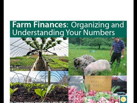 Farm Finances: Organizing and Understanding Your Numbers