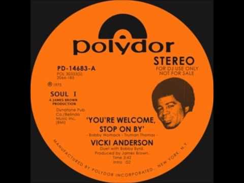 VICKI ANDERSON YOU'RE WELCOME TO STOP ON BY