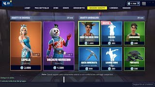 FORTNITE SHOP 26 DECEMBER - SKIN LAPILLA AND NEW BALL ENCOMI