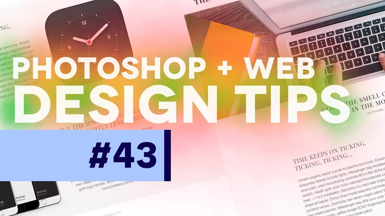 #PSin30 – Web Design Tips for Photoshop CC