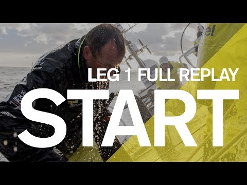 Leg 1 Start in Alicante - Full Replay | Volvo Ocean Race