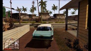 Super pack de Gráficos de GTA 5 para GTA San Andreas [ HD ]