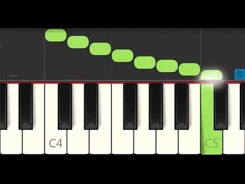 Verwonderlijk 5 Heel eenvoudige Kinderliedjes voor Kinderen Piano Tutorial ZW-88